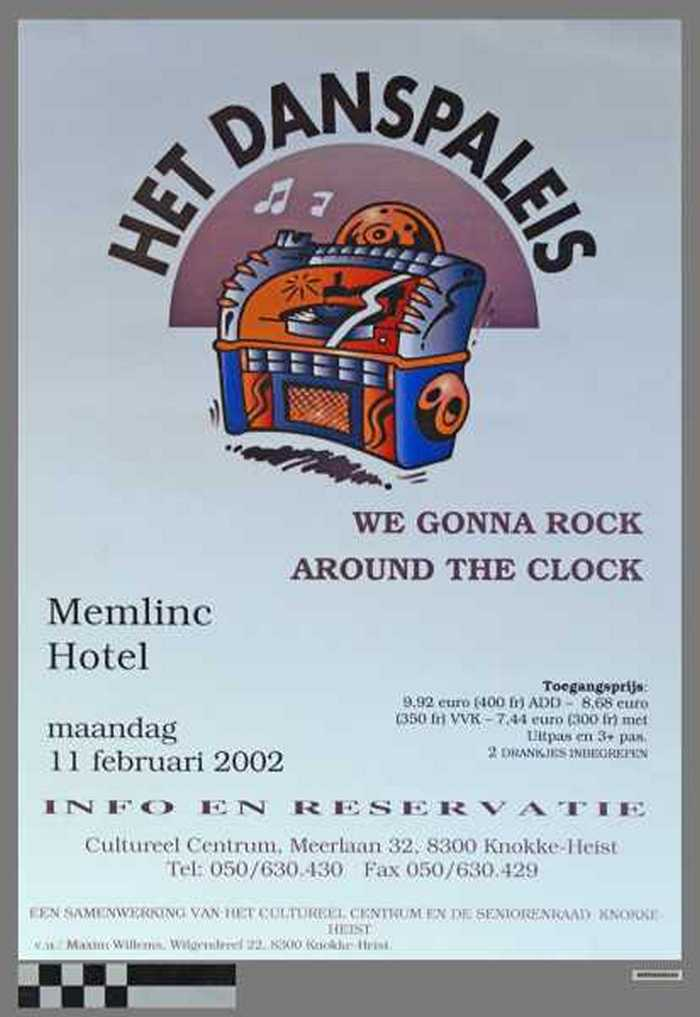 Het danspaleis, We Gonna Rock Around The Clock.