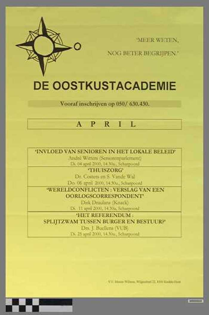 De Oostkustacademie, April