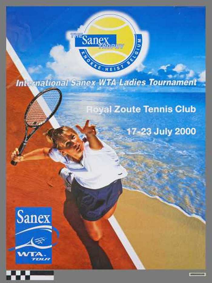 International Sanex WTA Ladies Tournament, Royal Zoute Tennis Club, 17-23 July 2000