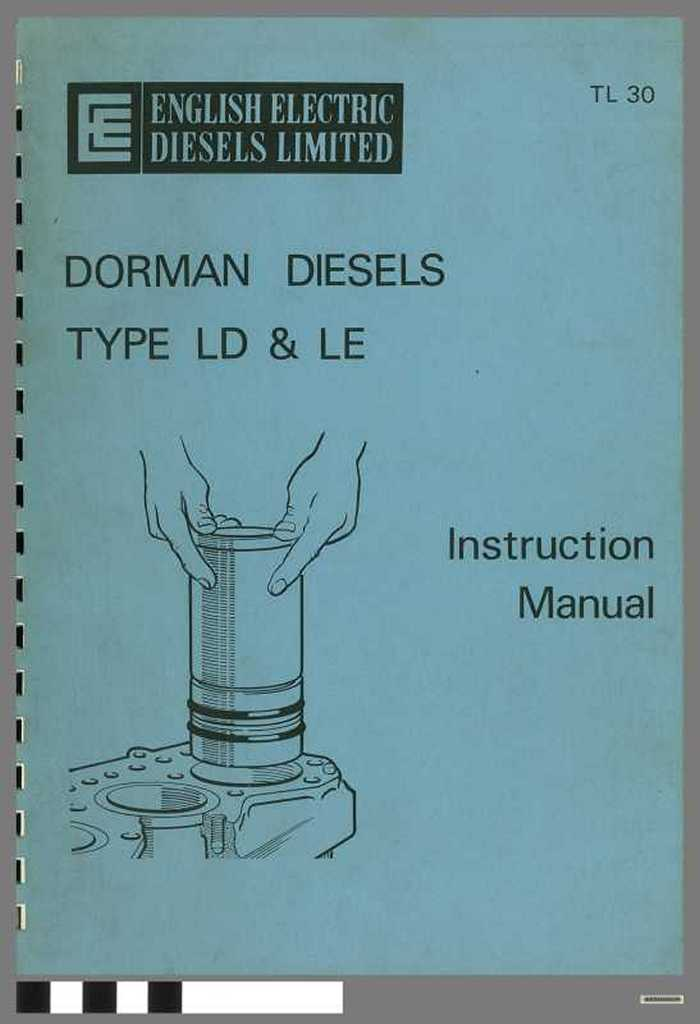 Dorman Diesels  - Type LD & LE - Instruction Manual